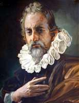 Michael Servetus portrait (by Guillermo) I.E.S. Miguel Servet